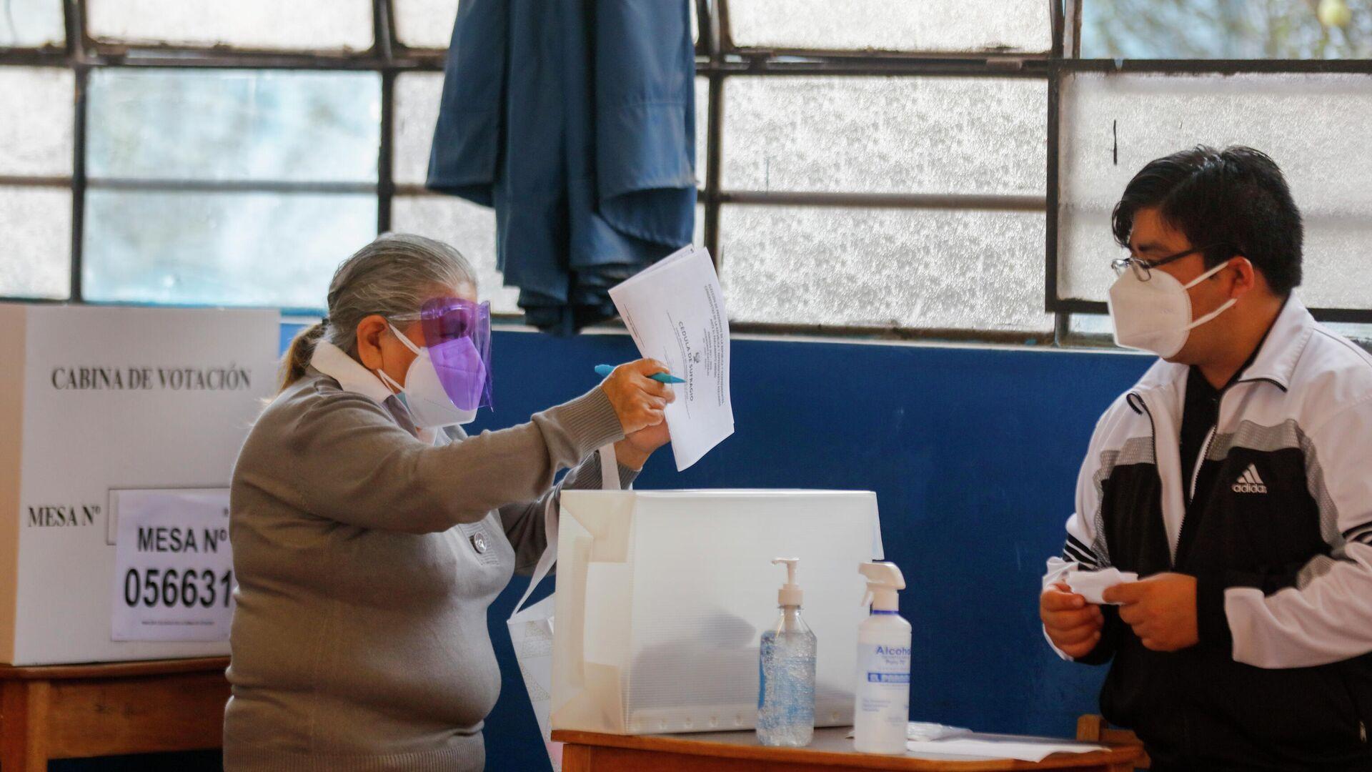 Elecciones en Perú - Sputnik Mundo, 1920, 04.06.2021