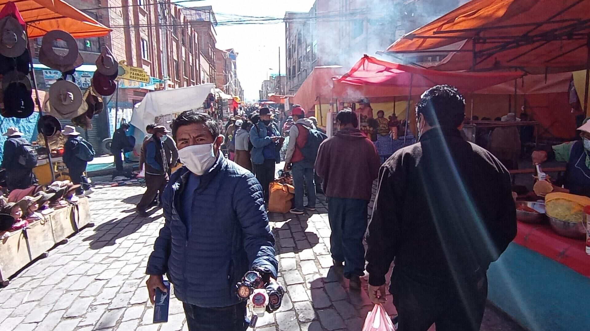 Feria 16 de julio en El Alto, La Paz - Sputnik Mundo, 1920, 04.06.2021