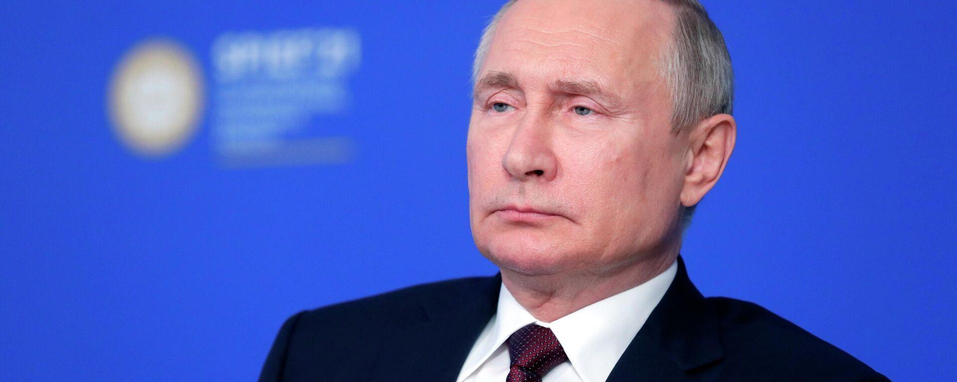 Vladímir Putin, presidente de Rusia - Sputnik Mundo, 1920, 05.06.2021