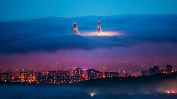 Снимок Волшебный пейзаж фотографа Юрия Смитюка, победивший в номинации Пейзаж фотоконкурса РГО Самая красивая страна - Sputnik Mundo