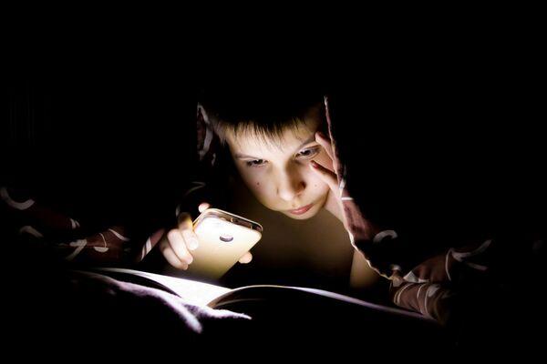 En la categoría infantil mundo de las personas, Daria Polomoshnova se llevó el oro con una foto de su hermano leyendo un libro en un día en que les faltó energía eléctrica en su casa. ¡Con un libro interesante, no necesitas Minecraft!, se bautizó la instantánea. - Sputnik Mundo