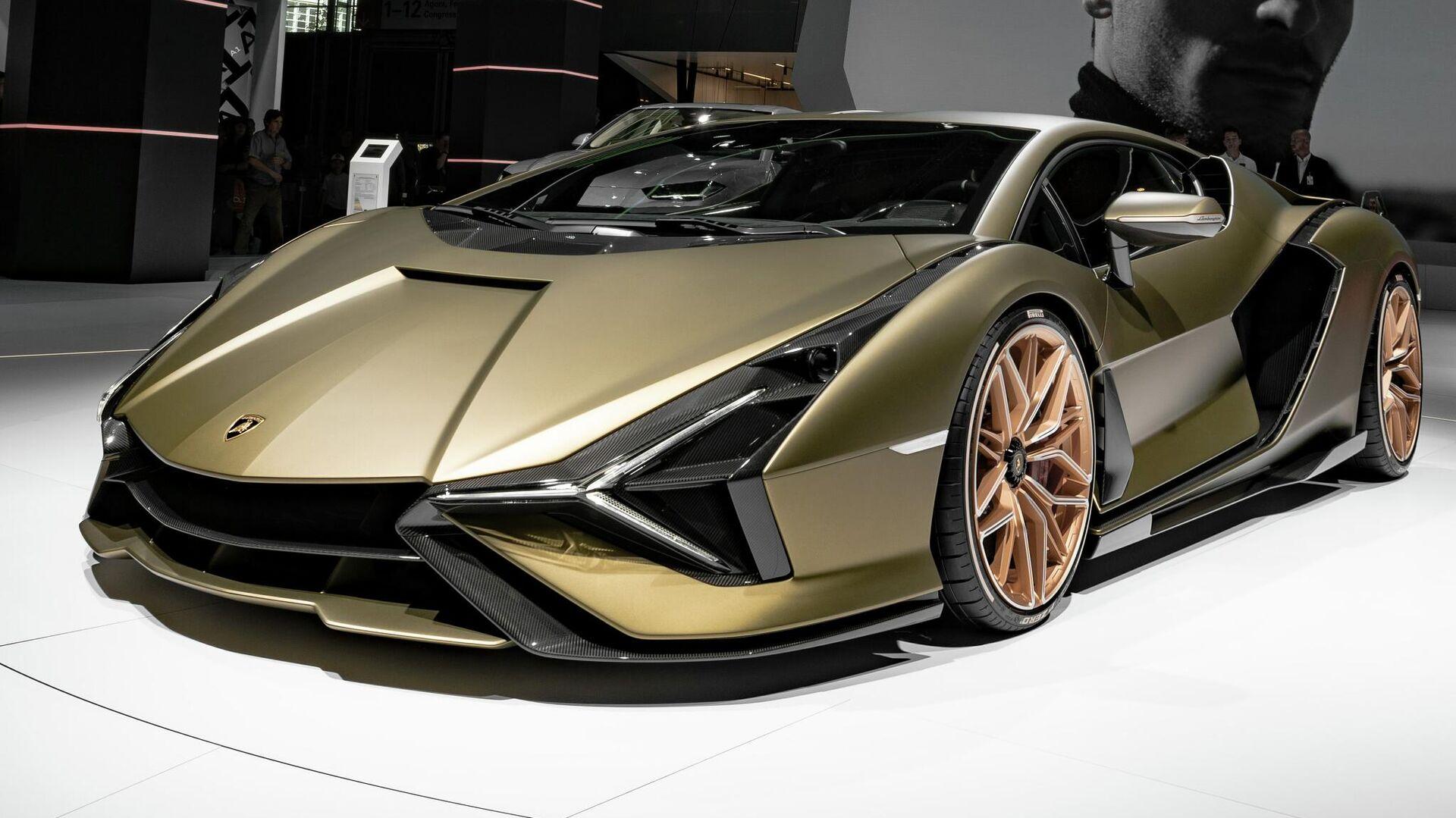 Un Lamborghini Sian - Sputnik Mundo, 1920, 05.06.2021