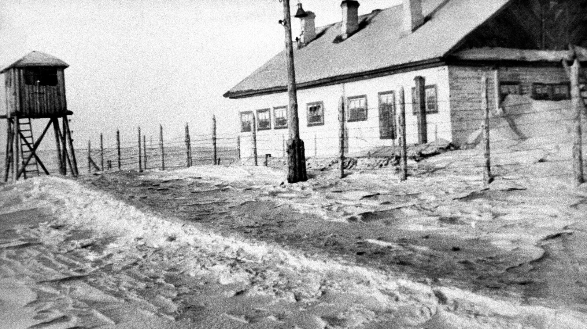 Un campo de trabajo forzoso en Vorkutá - Sputnik Mundo, 1920, 06.06.2021