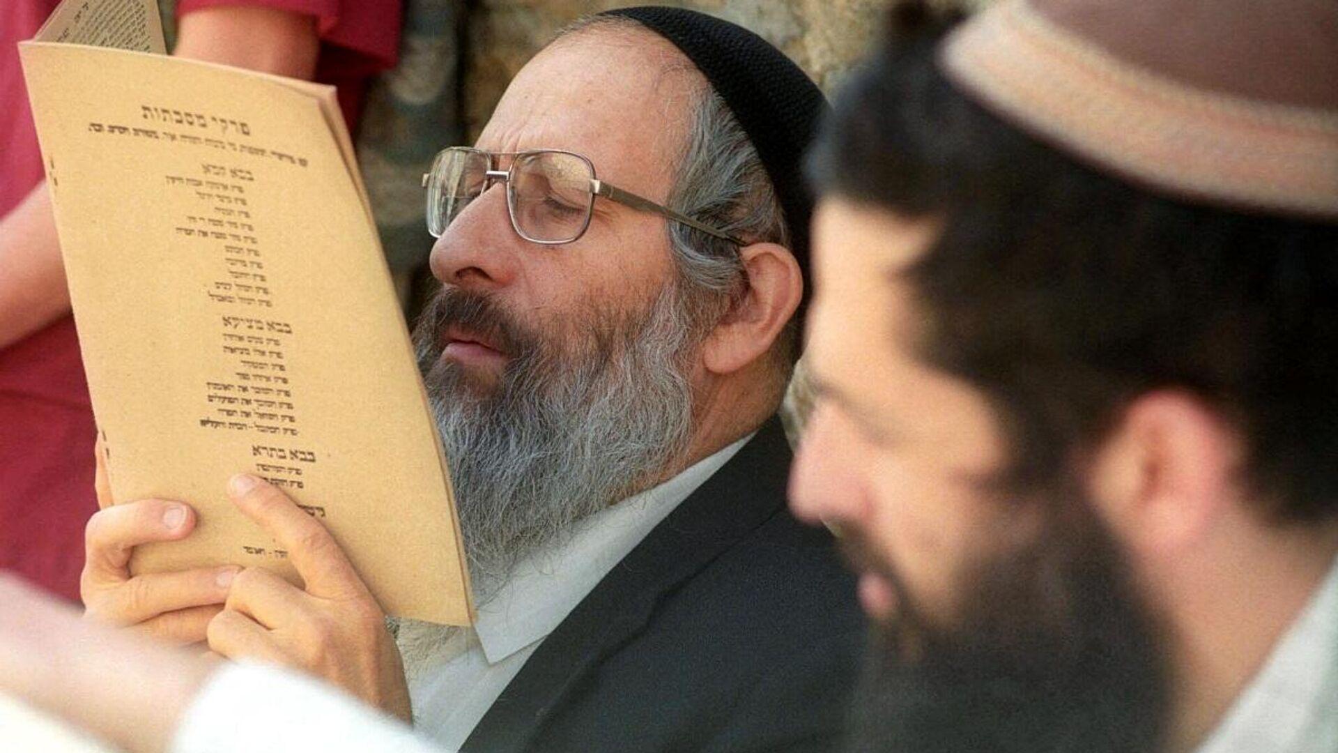 Shlomo Aviner, un destacado rabino de Cisjordania  - Sputnik Mundo, 1920, 06.06.2021