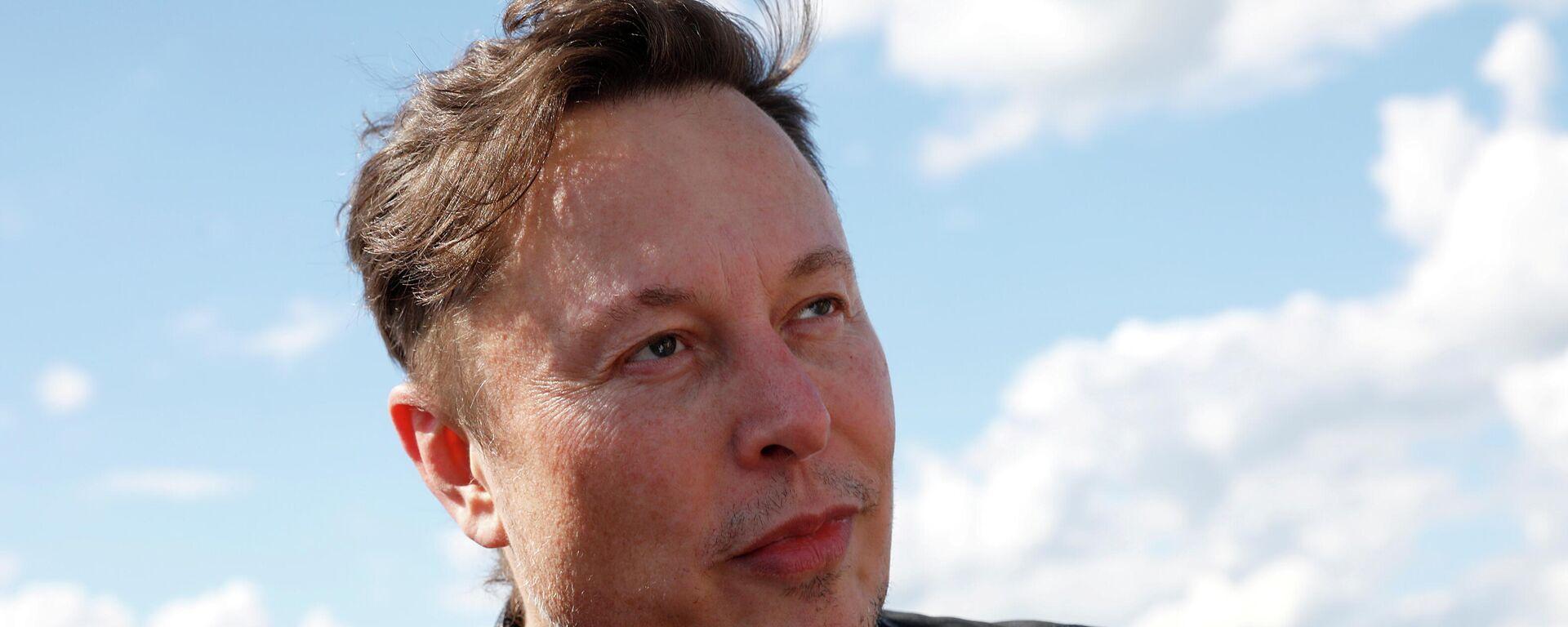 Elon Musk, fundador de Tesla y SpaceX - Sputnik Mundo, 1920, 06.06.2021