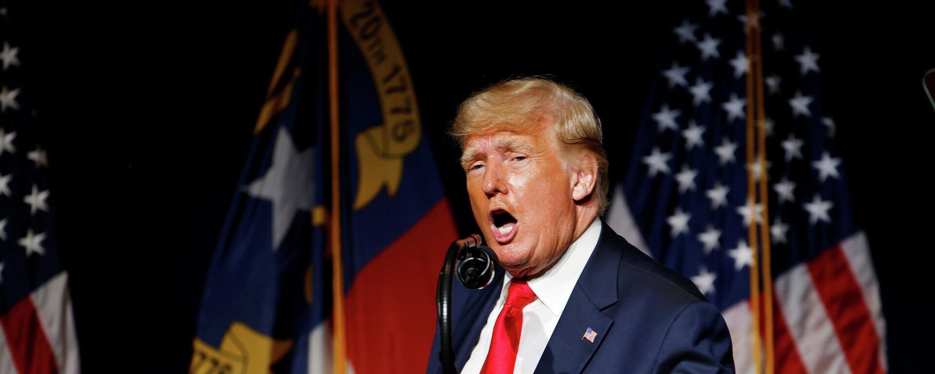 Donald Trump, expresidente de EEUU - Sputnik Mundo, 1920, 06.06.2021