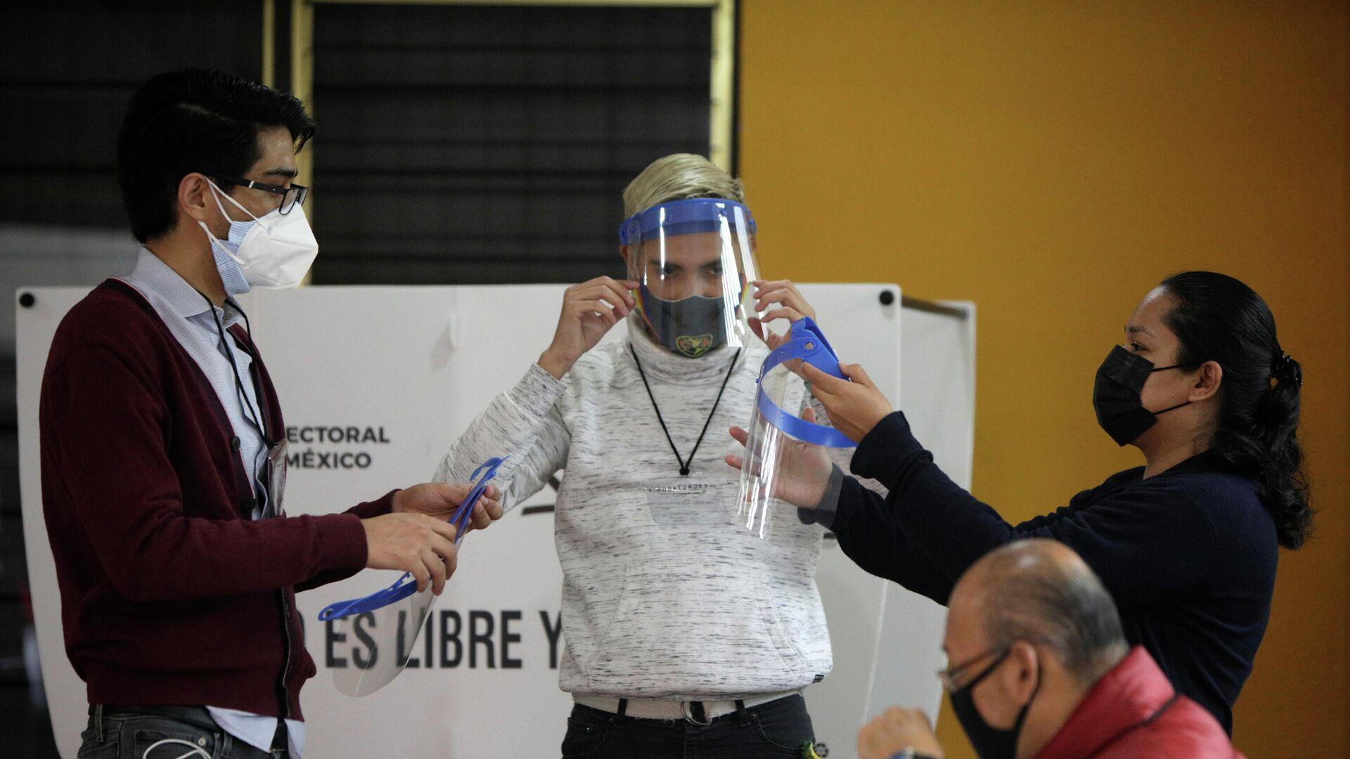 Elecciones en México - Sputnik Mundo, 1920, 06.06.2021