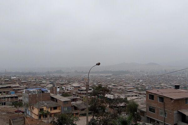 Vista sobre Lima desde el Asentamiento Pacífico - Sputnik Mundo