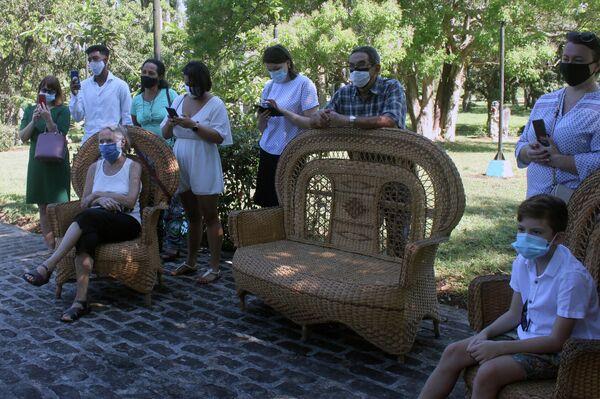 Participantes en acto en Cuba por el Día de la Lengua Rusa - Sputnik Mundo
