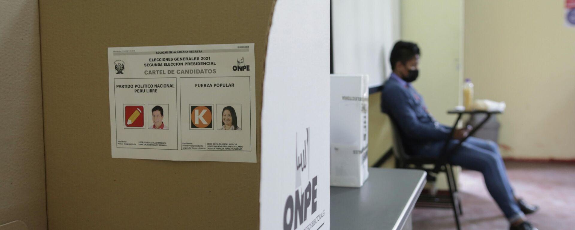 Elecciones en Perú - Sputnik Mundo, 1920, 25.06.2021