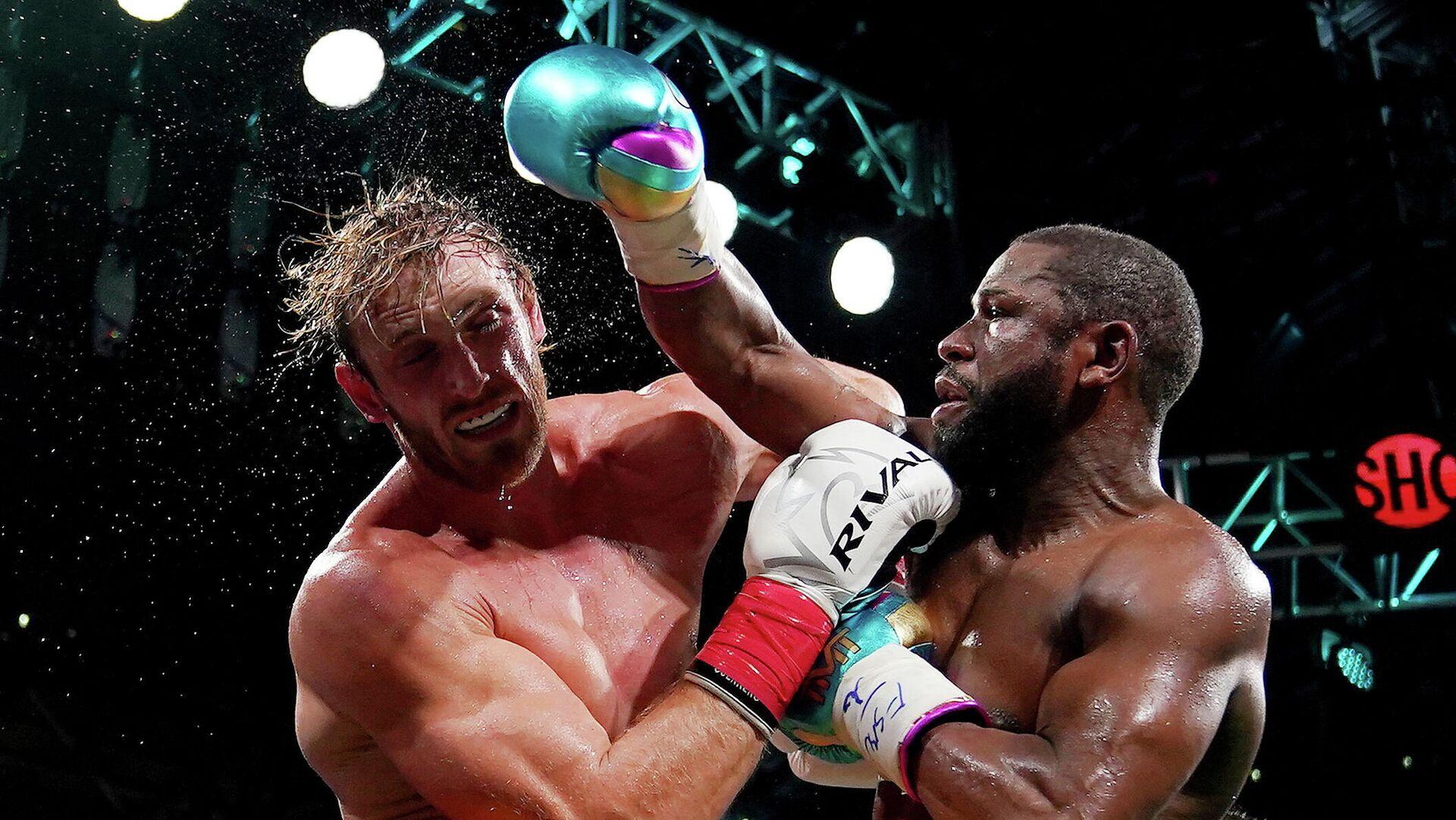 La pelea entre Logan Paul y Floyd Mayweather Jr. - Sputnik Mundo, 1920, 07.06.2021