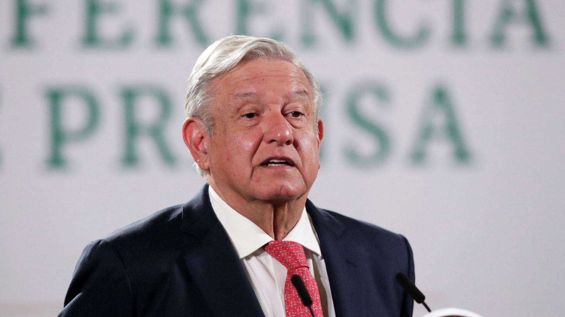 Andrés Manuel López Obrador, presidente de México - Sputnik Mundo, 1920, 16.06.2021