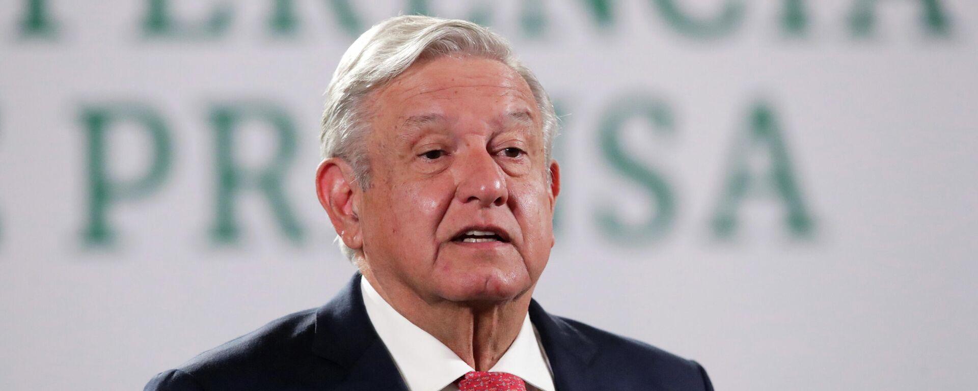 Andrés Manuel López Obrador, presidente de México - Sputnik Mundo, 1920, 07.06.2021