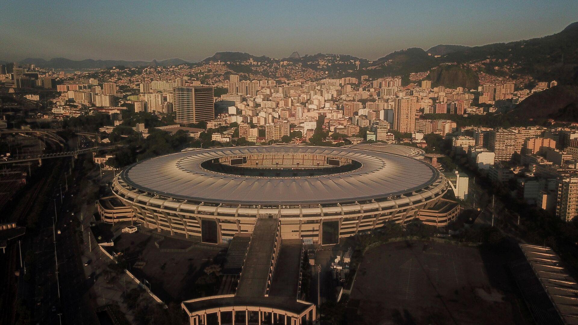 El estadio Maracana en Río de Janeiro en Brasil - Sputnik Mundo, 1920, 07.06.2021
