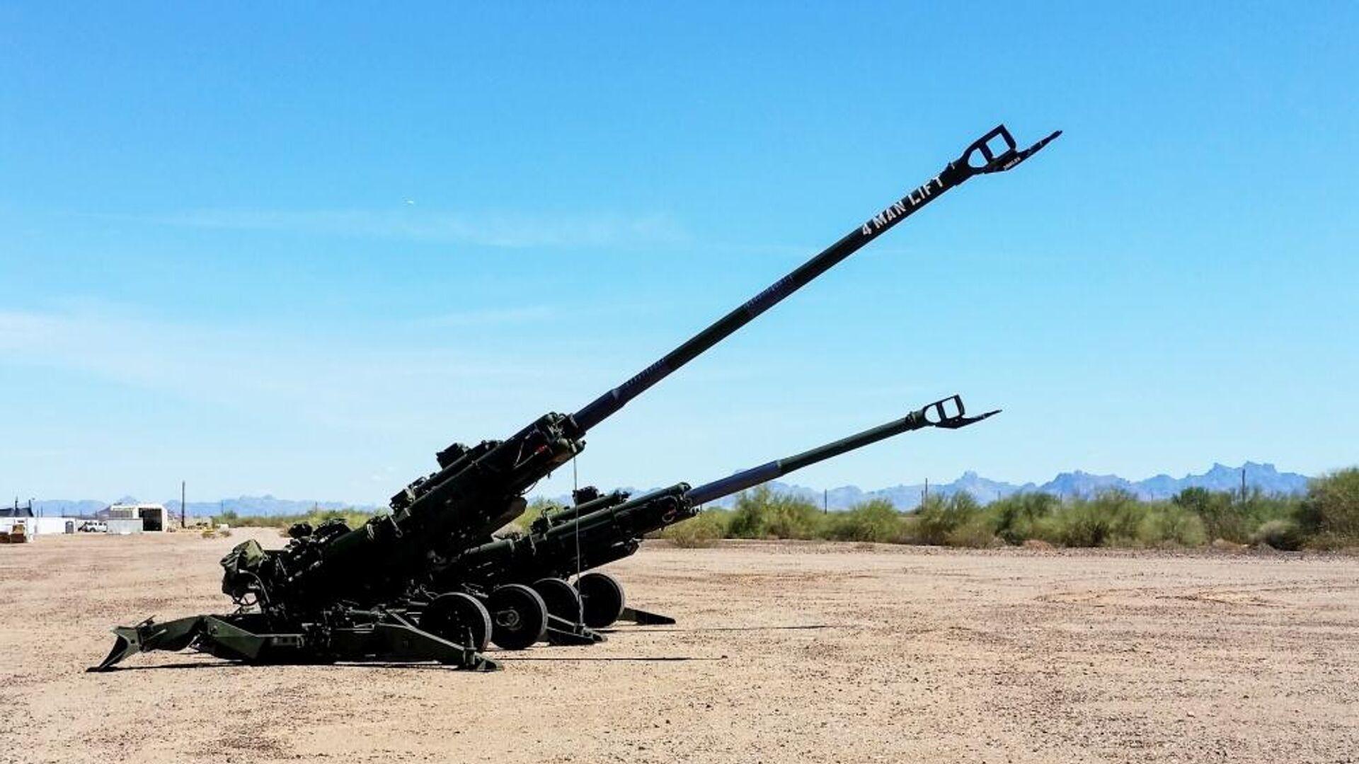 Los obuses estadounidenses, el M777A2 y el M777ER - Sputnik Mundo, 1920, 07.06.2021