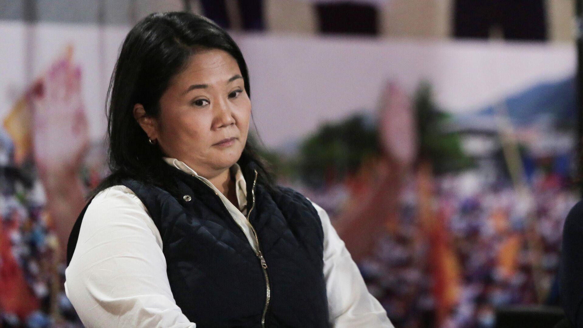 Keiko Fujimori, la candidata a la presidencia de Perú  - Sputnik Mundo, 1920, 08.06.2021
