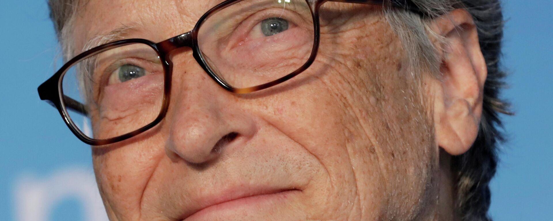 Bill Gates, cofundador de Microsoft - Sputnik Mundo, 1920, 08.06.2021