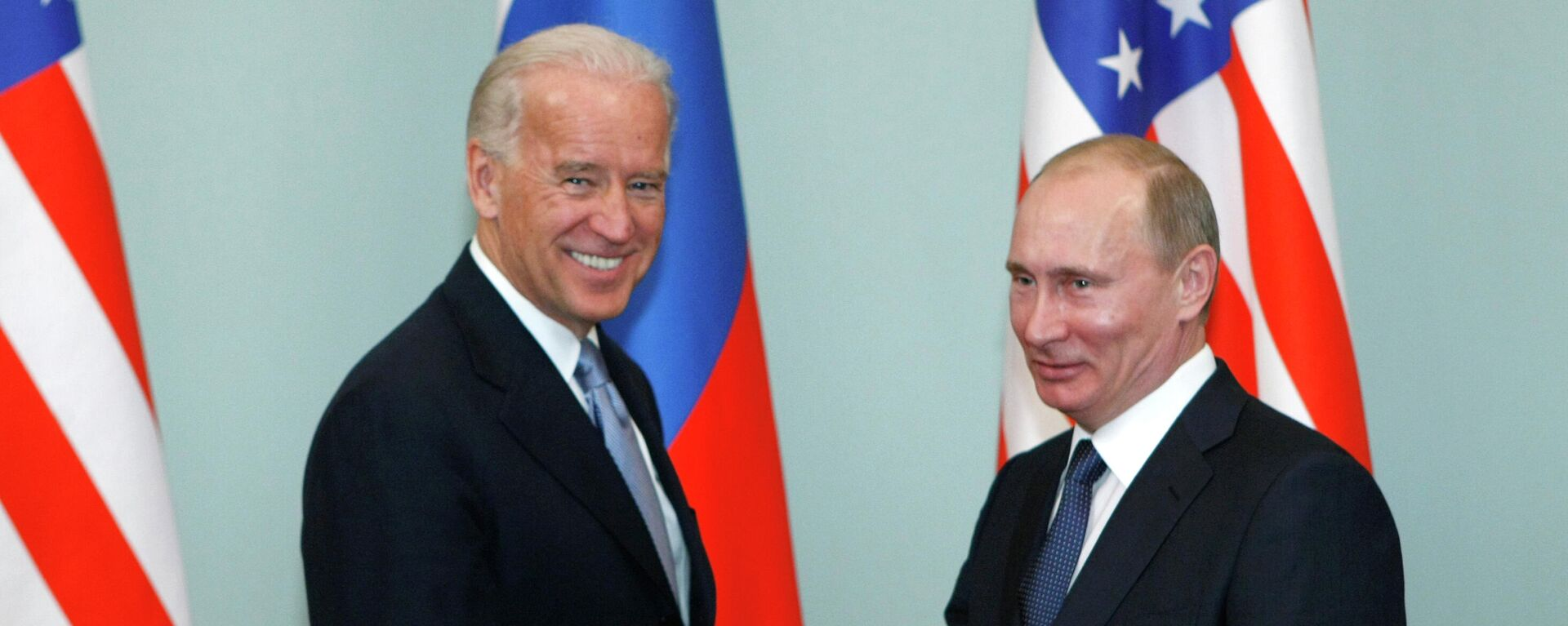 Joe Biden y Vladímir Putin (archivo) - Sputnik Mundo, 1920, 08.06.2021