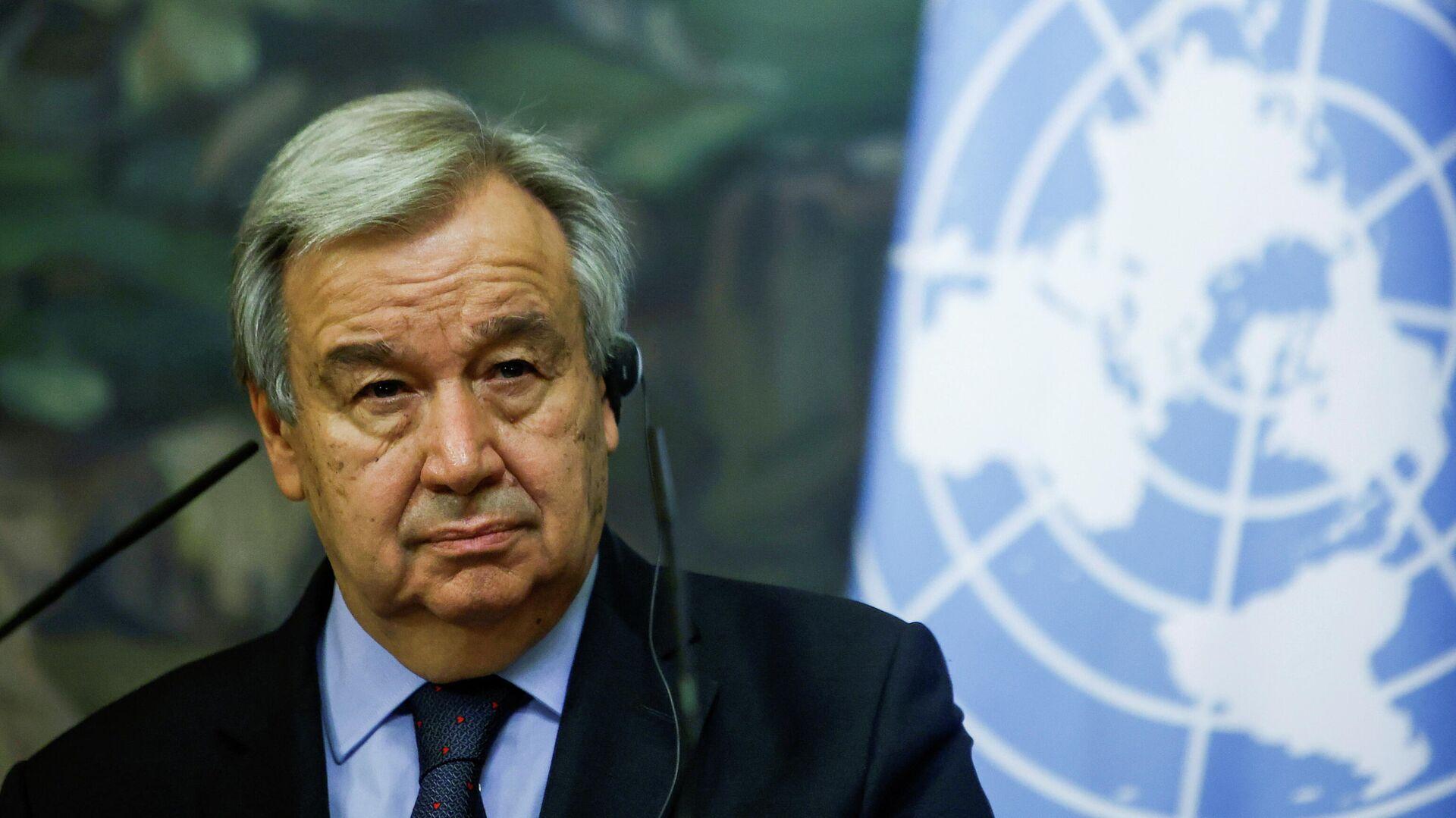 El secretario general de la ONU, António Guterres - Sputnik Mundo, 1920, 23.06.2021