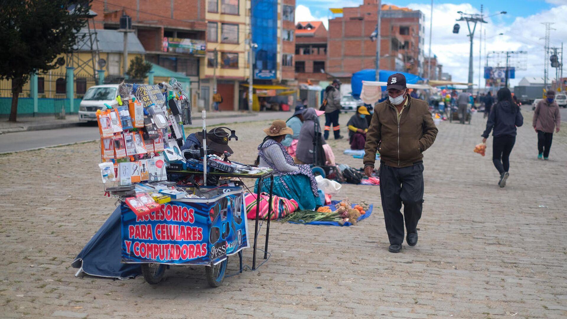 Venta ambulante en Bolivia - Sputnik Mundo, 1920, 08.06.2021