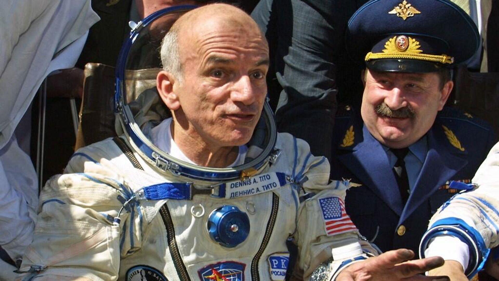 El primer turista espacial de la historia, Dennis Tito - Sputnik Mundo, 1920, 08.06.2021