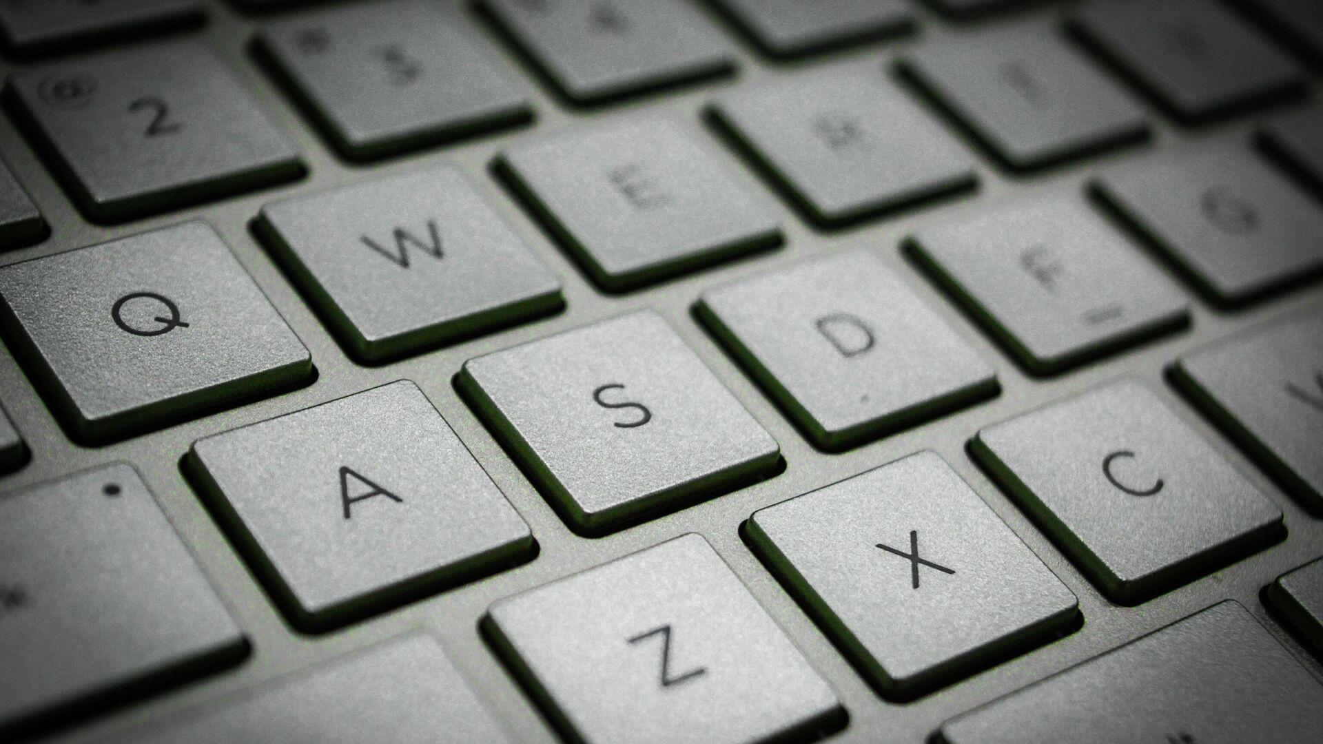 Un teclado - Sputnik Mundo, 1920, 08.06.2021