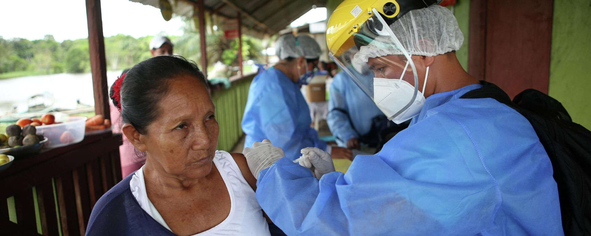 Vacunación contra COVID-19 en Iquitos, Perú - Sputnik Mundo, 1920, 17.06.2021