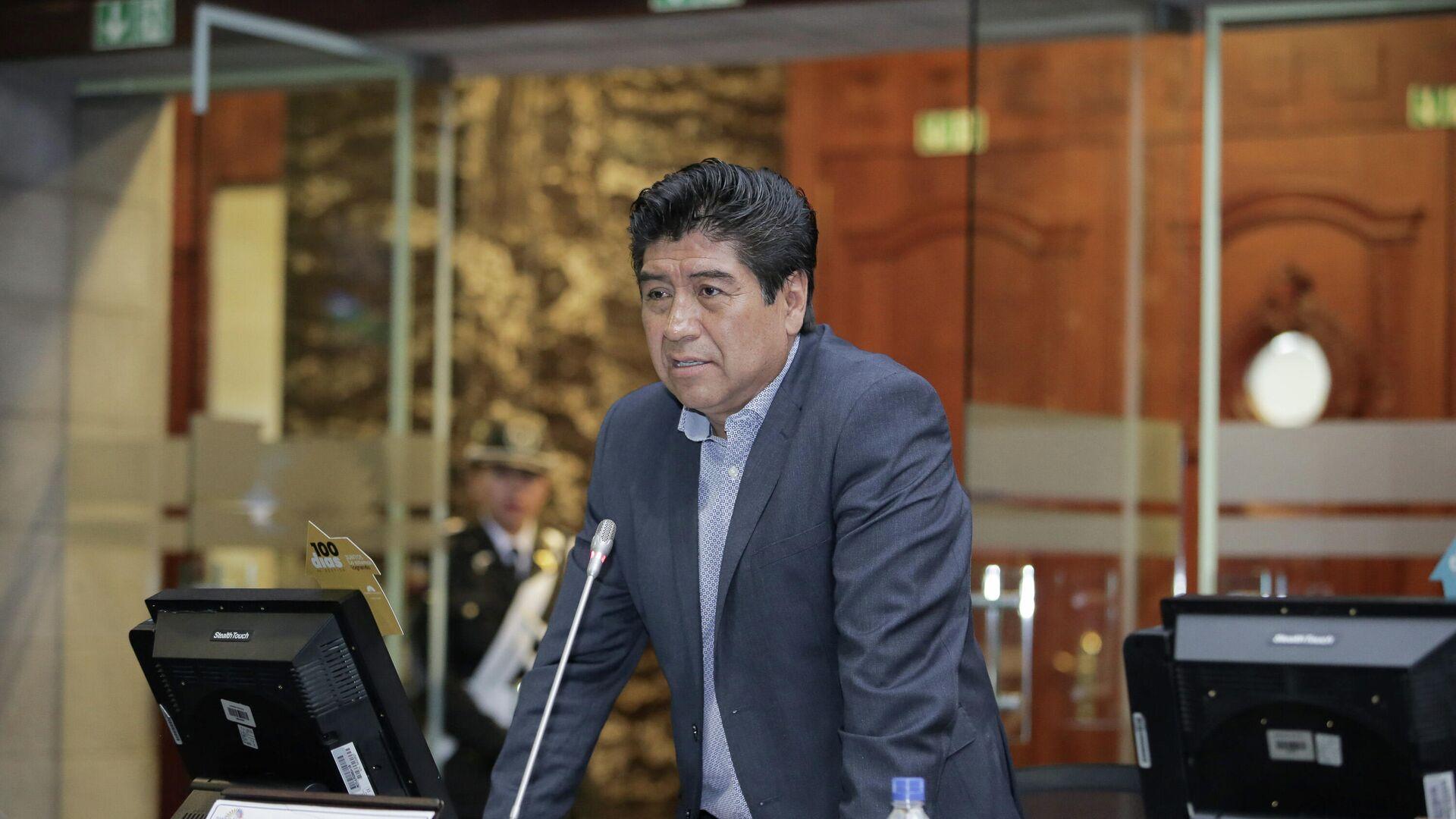 Jorge Yunda, alcalde de Quito, Ecuador - Sputnik Mundo, 1920, 08.06.2021