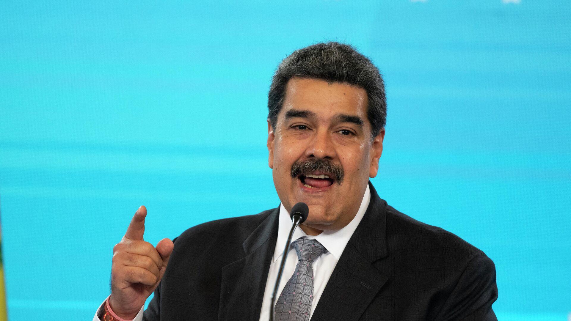 Nicolás Maduro, presidente de Venezuela - Sputnik Mundo, 1920, 08.06.2021