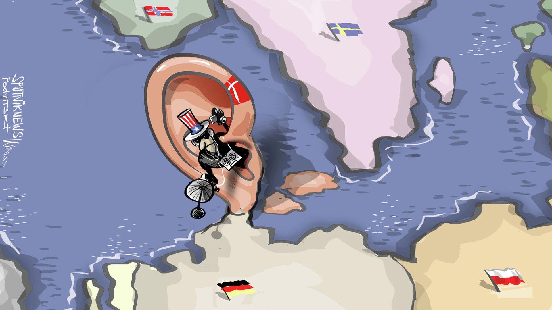 ¿Puso Dinamarca la oreja en Alemania para espiar a su vecino? - Sputnik Mundo, 1920, 31.05.2021