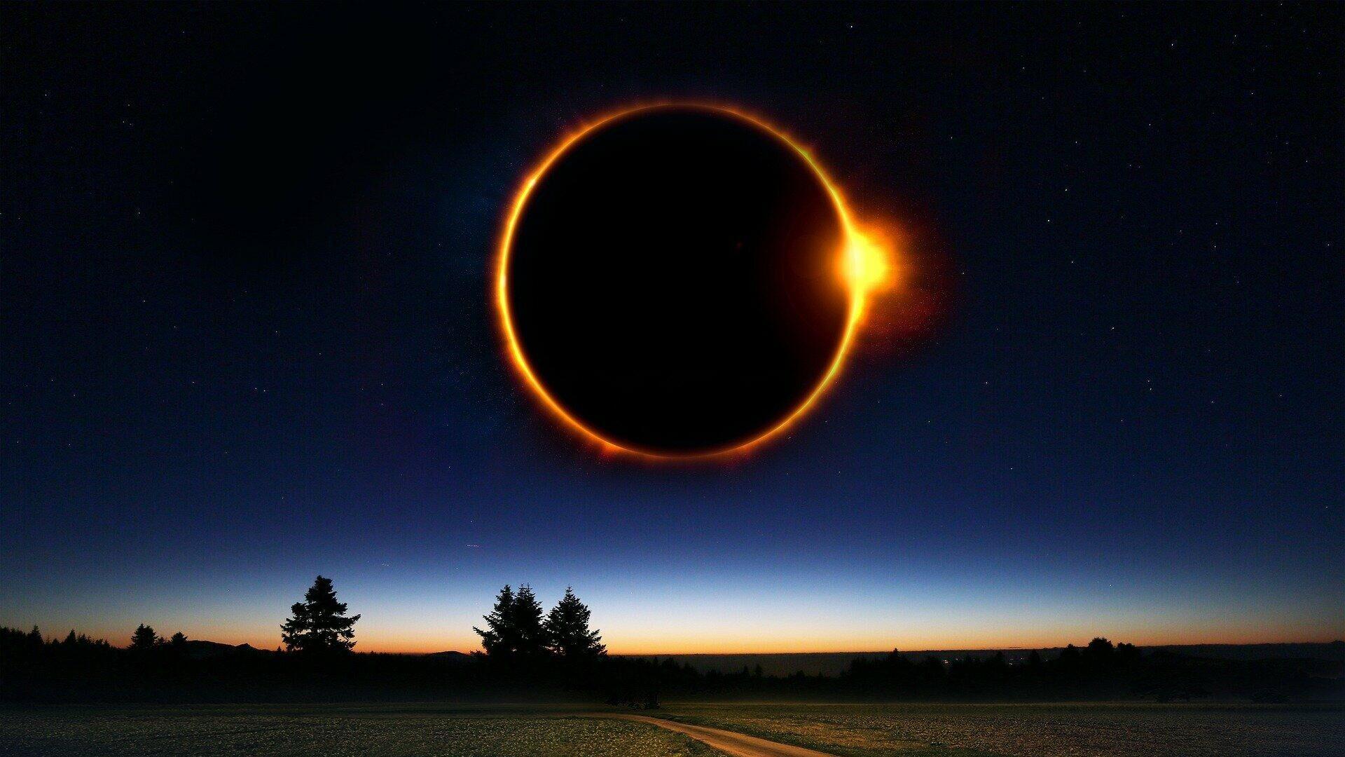 Eclipse sola (imagen referencial) - Sputnik Mundo, 1920, 09.06.2021
