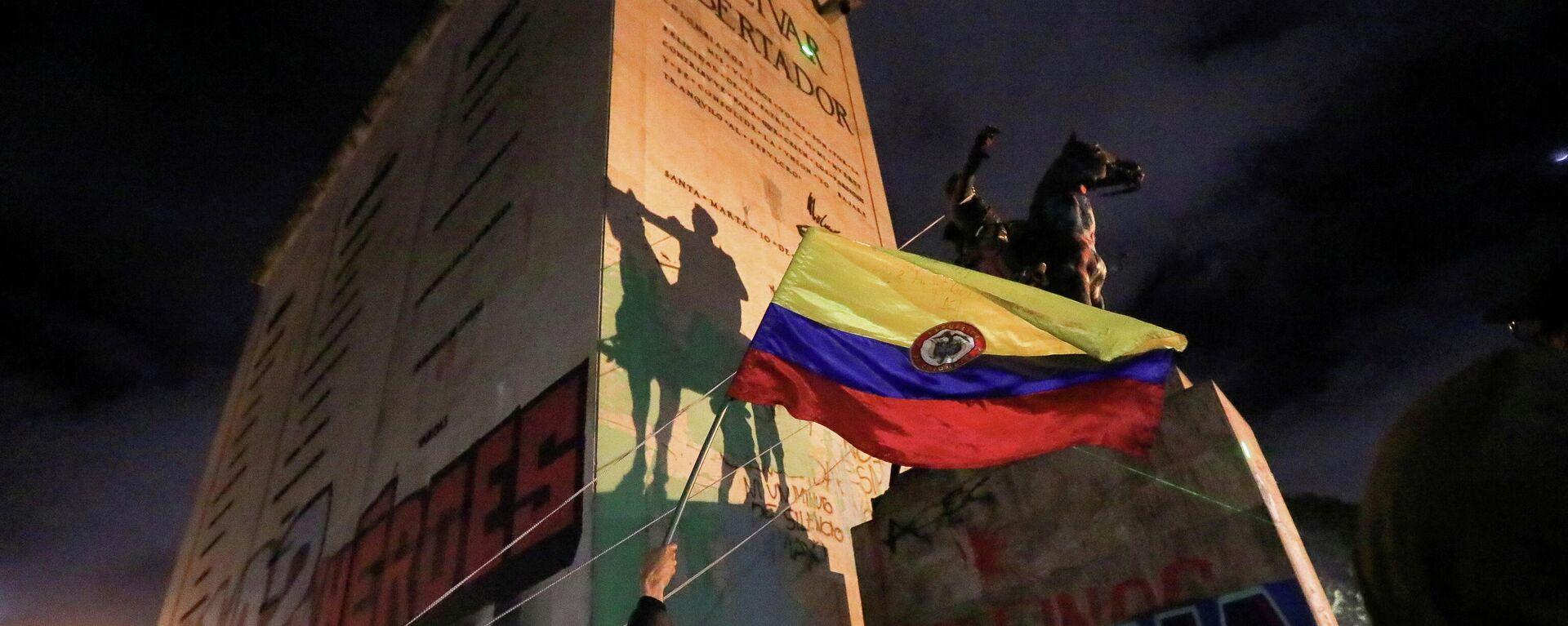 Protestas en Bogotá, Colombia - Sputnik Mundo, 1920, 09.06.2021
