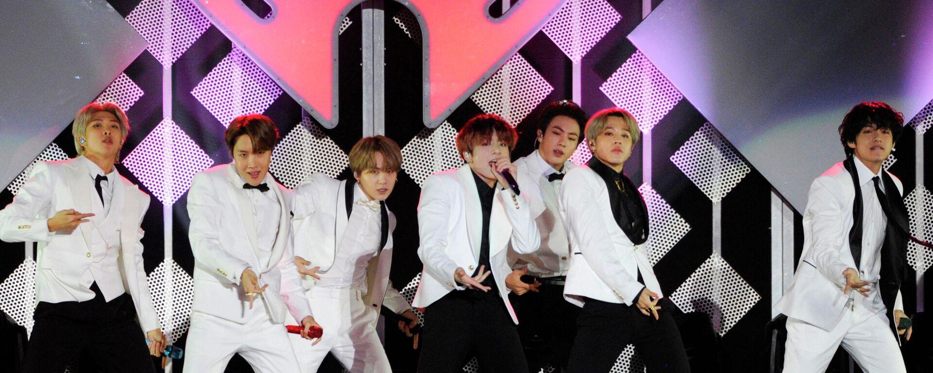 El grupo de k-pop BTS - Sputnik Mundo, 1920, 10.06.2021
