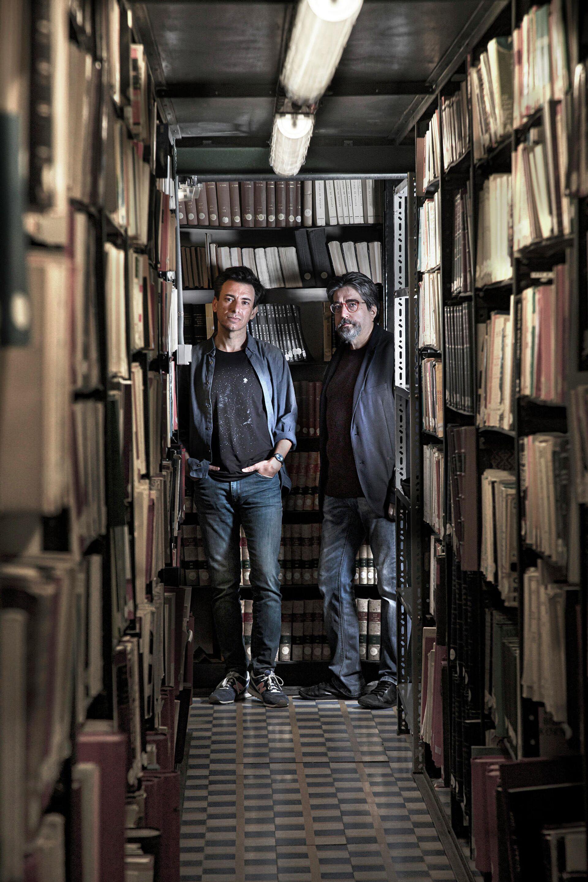 Manuel Menchón y Luis García Jambrina, autores del libro 'La doble muerte de Unamuno' (Capitán Swing) - Sputnik Mundo, 1920, 11.06.2021
