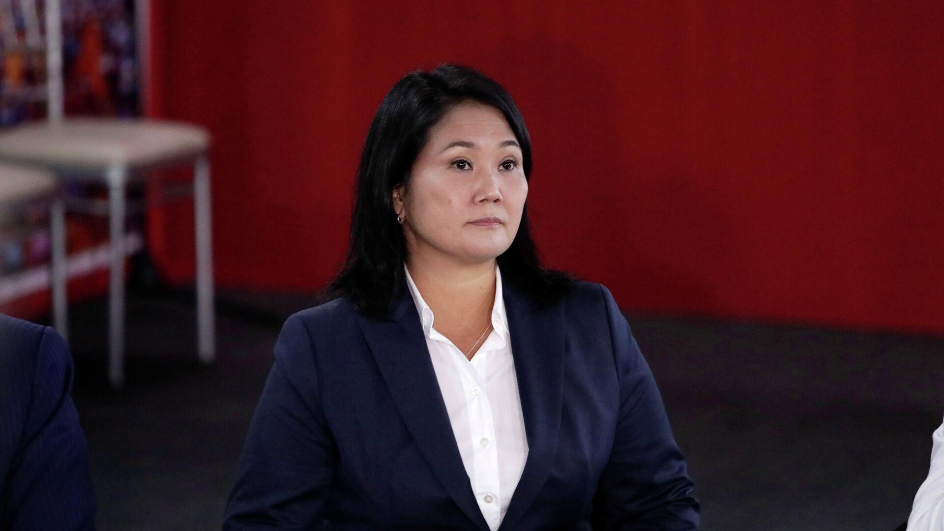 Keiko Fujimori, la candidata a la presidencia de Perú - Sputnik Mundo, 1920, 10.06.2021
