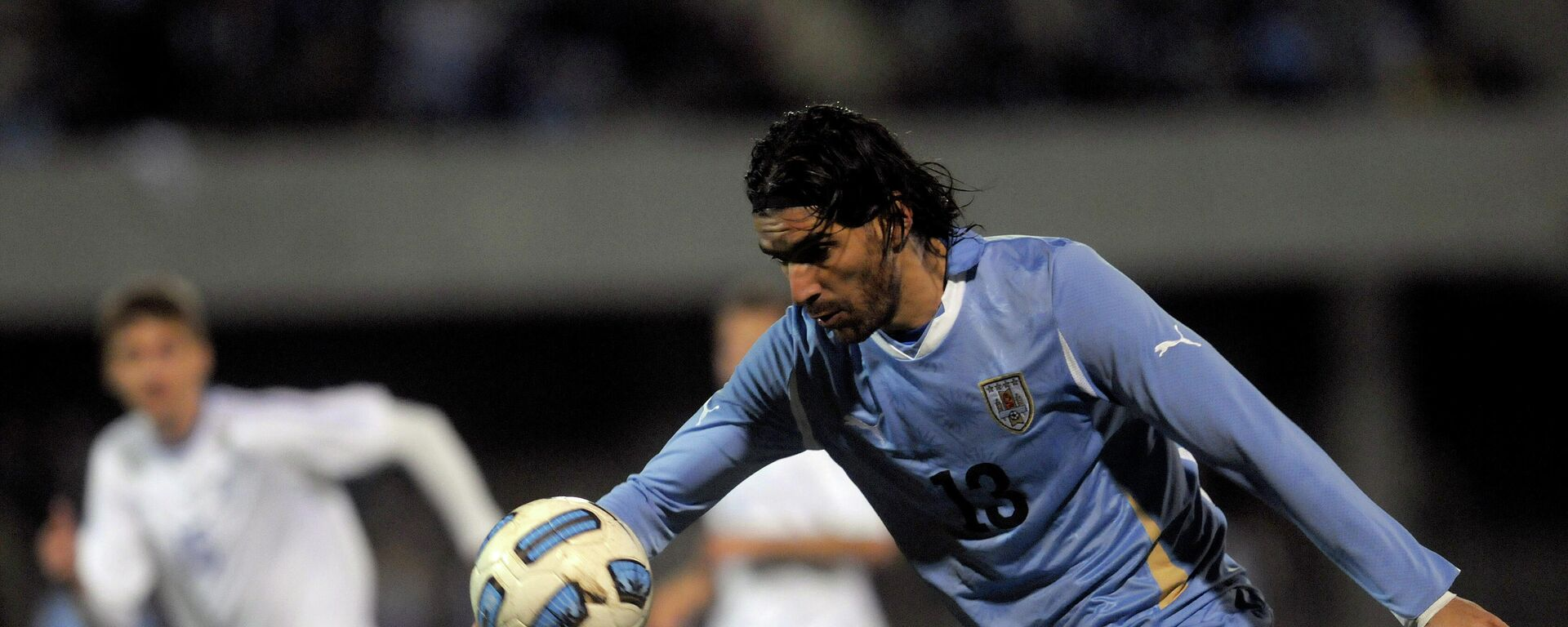 El futbolista uruguayo Sebastián Abreu con la selección de Uruguay en 2011 - Sputnik Mundo, 1920, 10.06.2021