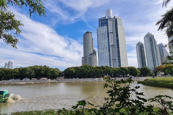 La mejor vista panorámica de Buenos Aires, ciudad de espaldas al rio, se encuentra aquí - Sputnik Mundo