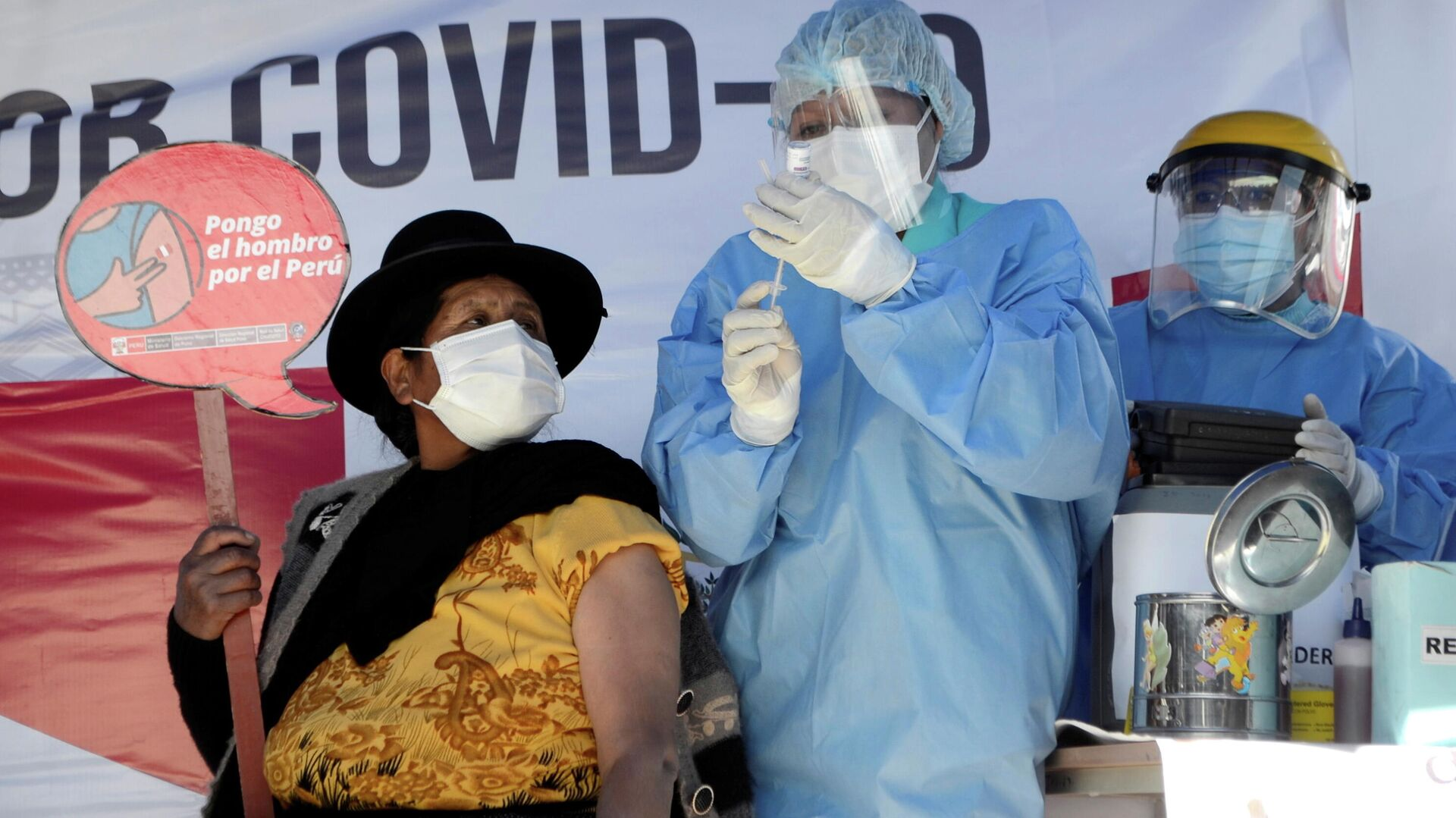 Vacunación en Bolivia - Sputnik Mundo, 1920, 23.06.2021