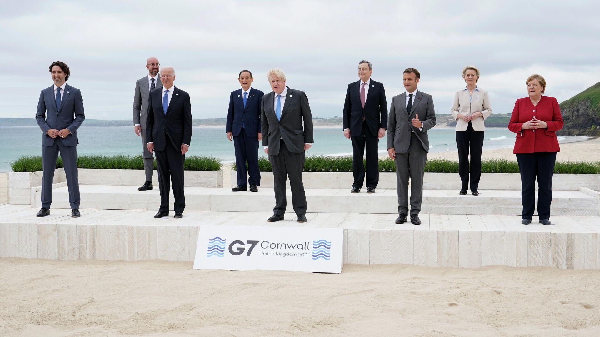 La cumbre del G7 en el Reino Unido - Sputnik Mundo, 1920, 12.06.2021