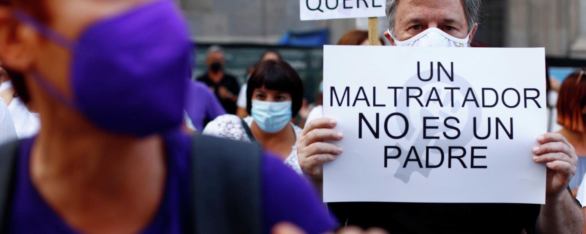 Protesta contra la violencia de género en España - Sputnik Mundo, 1920, 13.06.2021