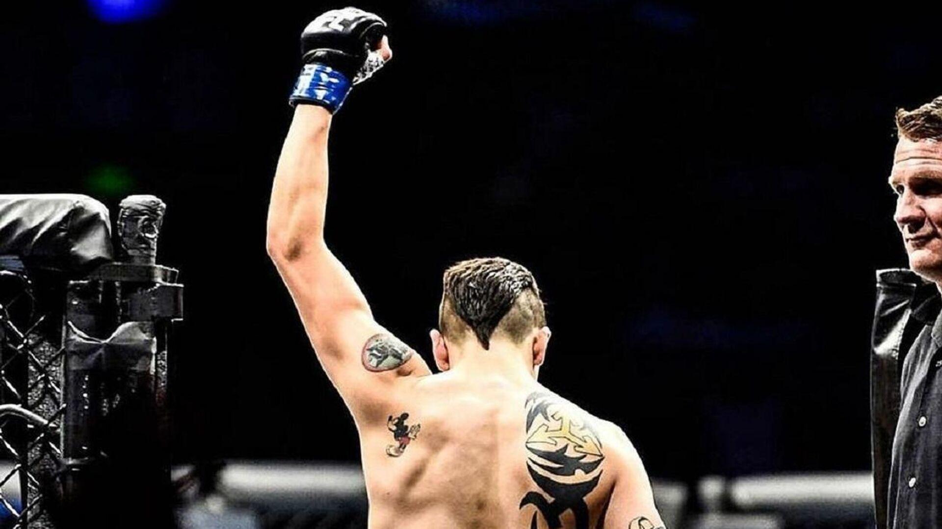 El campeón de peso mosca de la UFC, el mexicano Brandon Moreno - Sputnik Mundo, 1920, 13.06.2021