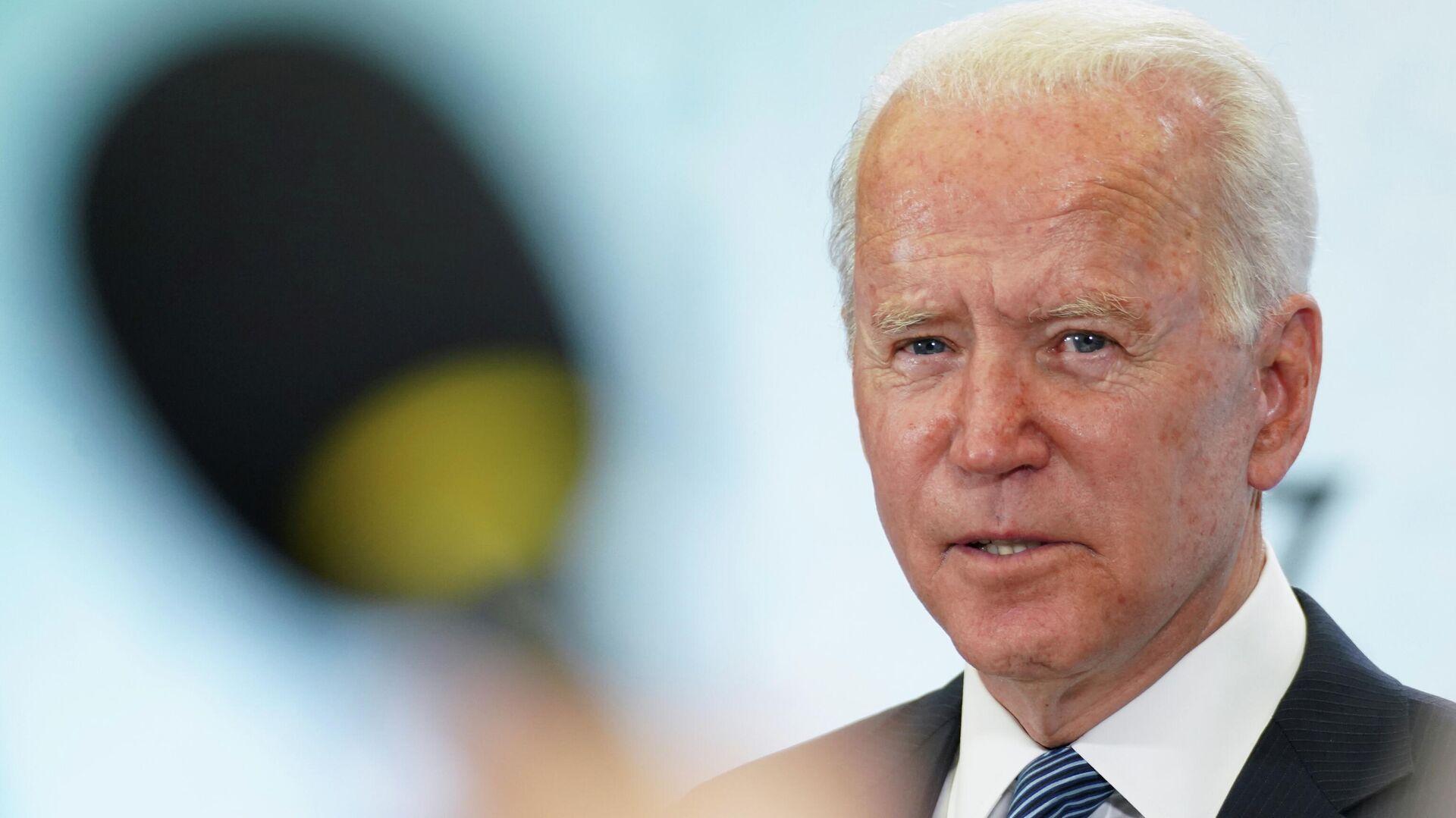 Joe Biden, presidente de EEUU - Sputnik Mundo, 1920, 13.06.2021
