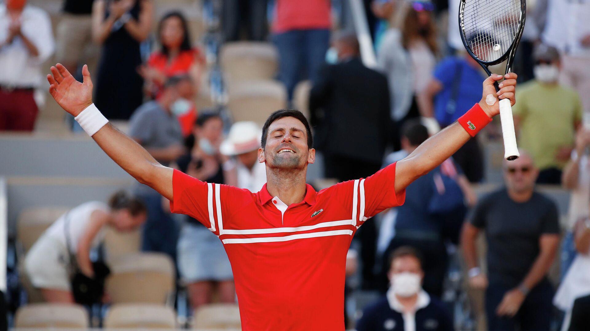 El tenista serbio Novak Djokovic  - Sputnik Mundo, 1920, 13.06.2021