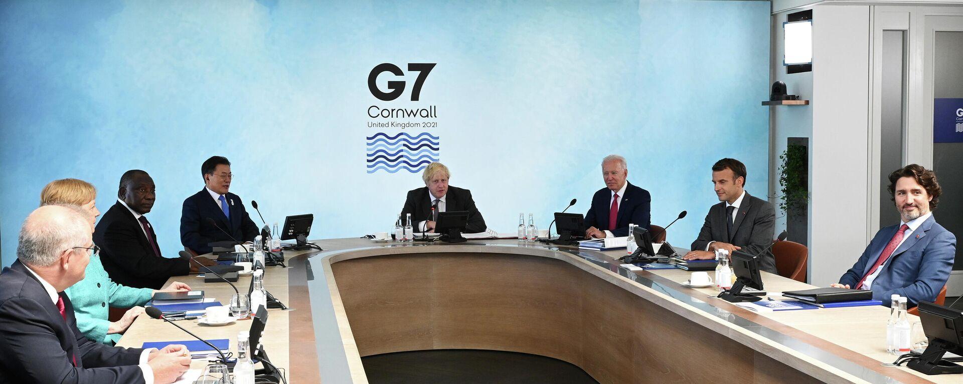 Cumbre del G7 en Cornwall, Reino Unido - Sputnik Mundo, 1920, 14.06.2021