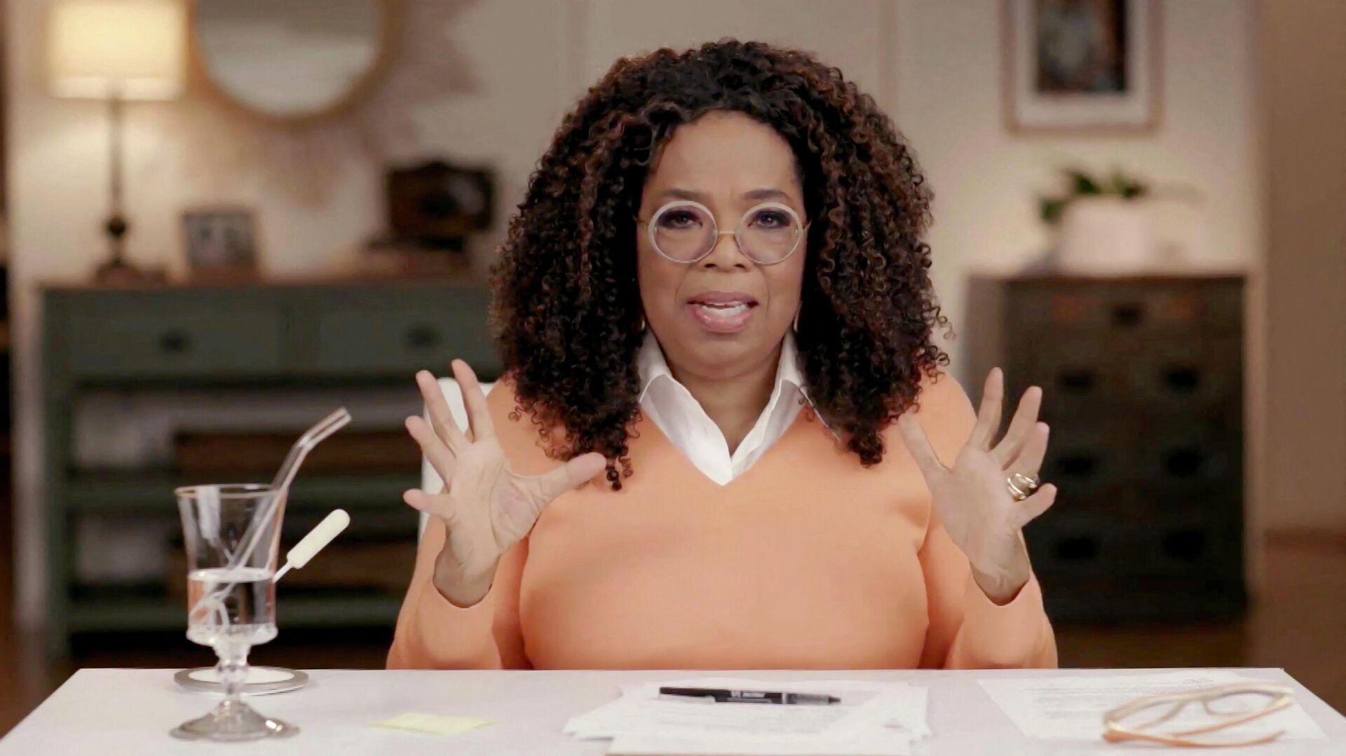 Oprah Winfrey, presentadora de televisión estadounidense  - Sputnik Mundo, 1920, 14.06.2021
