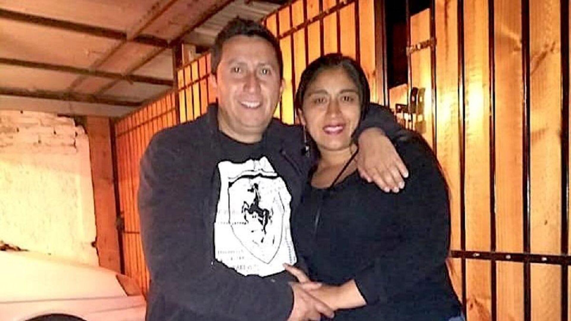 Fabiola junto a su esposo, Marco  - Sputnik Mundo, 1920, 14.06.2021