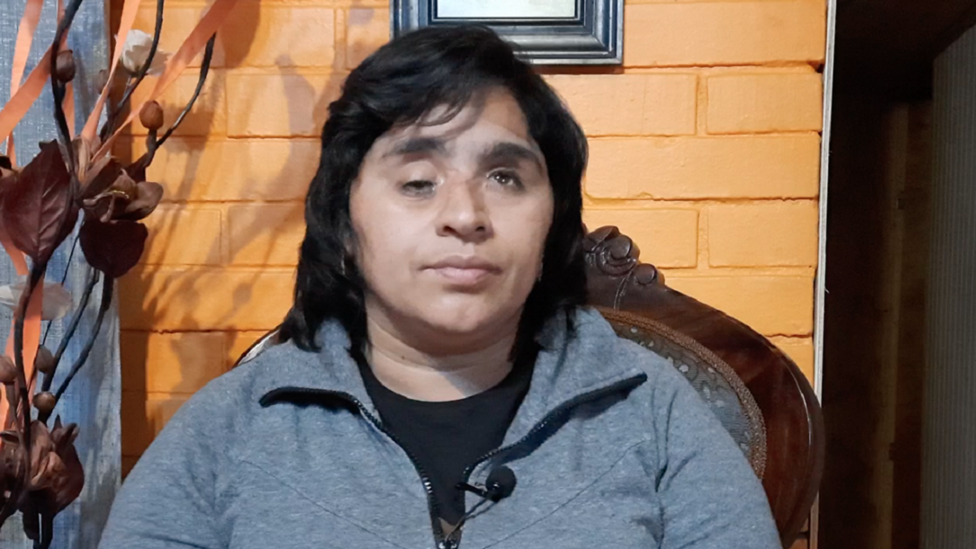 Fabiola Campillai Rojas en su casa - Sputnik Mundo, 1920, 14.06.2021