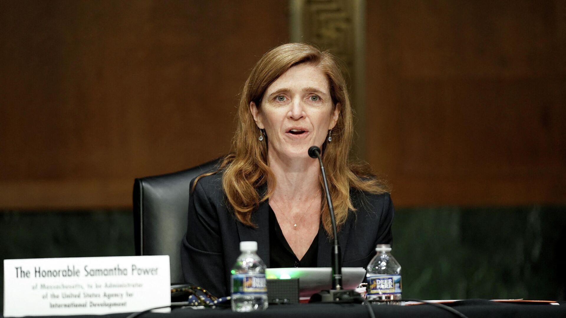 Samantha Power, jefa de la Agencia de Estados Unidos para el Desarrollo Internacional (USAID) - Sputnik Mundo, 1920, 14.06.2021