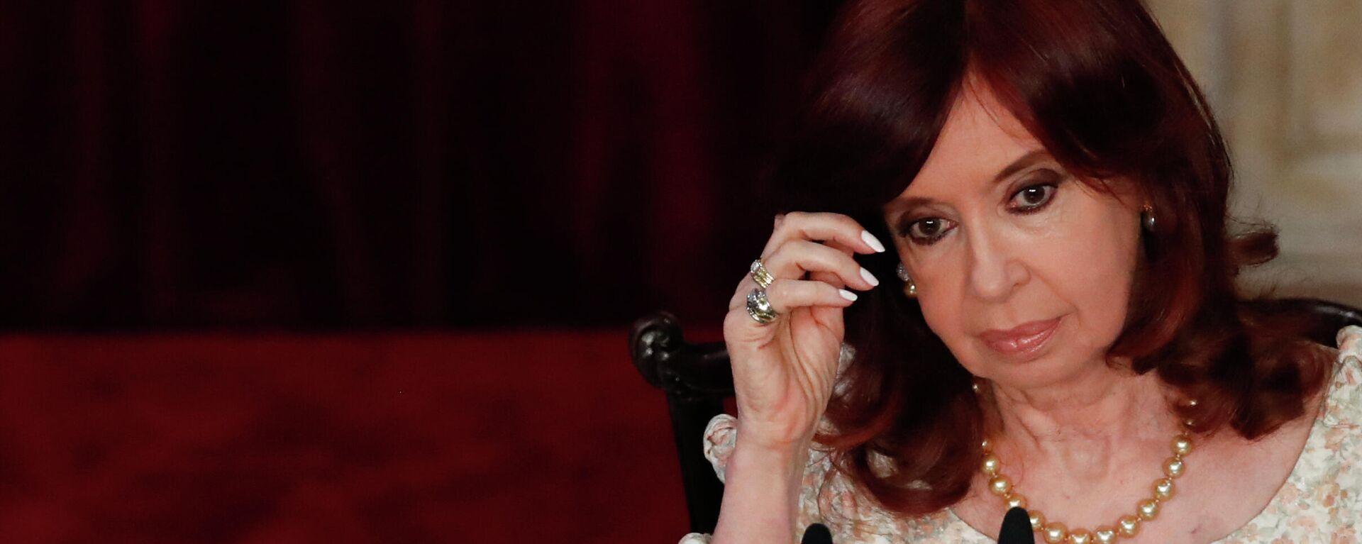 Cristina Fernández de Kirchner, vicepresidenta argentina - Sputnik Mundo, 1920, 14.06.2021