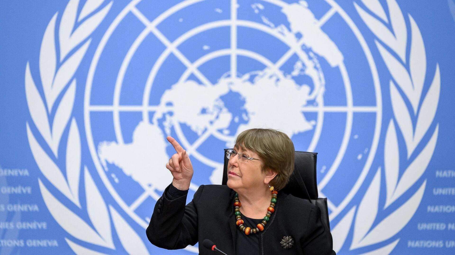 Michelle Bachelet, Alta Comisionada de la ONU para los Derechos Humanos - Sputnik Mundo, 1920, 14.06.2021